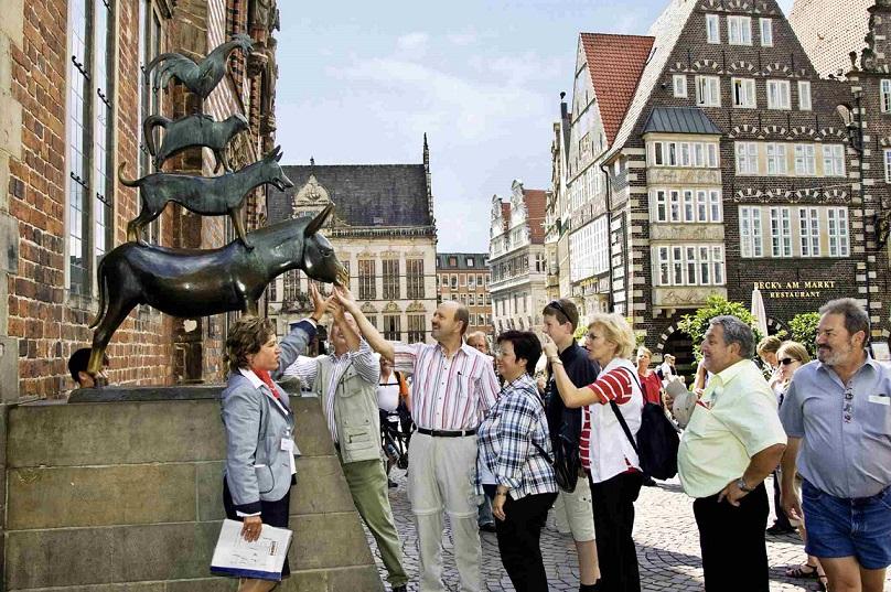Hotel Heldt *** Tierisch tolle Tage in Bremen mit den Bremer Stadtmusikanten höchstpersönlich